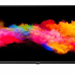 Запчасти к аудио- и видеотехнике - Телевизор HYUNDAI H-LED43EU7008 черный, 0