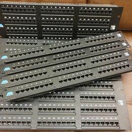 Компьютерные кабели, разъемы, переходники - Патчпанели на 96 и 24 порта, 0