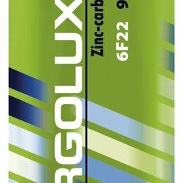 Батарейки - Батарейки Ergolux 6F22, 0