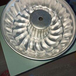 Кондитерские аксессуары - Алюминиевая форма для кекса ссср, 0