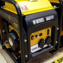 Электрогенераторы и станции - Бензиновый генератор denzel gt-3500if (3.200 вт), 0