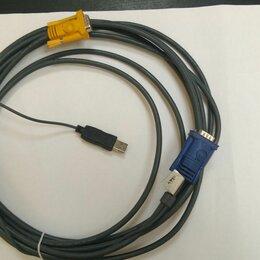 Компьютерные кабели, разъемы, переходники - KVM кабель ATEN 2L-5206UP, 0