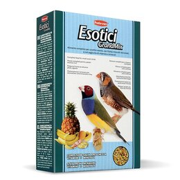 Корма - Padovan Корм GRANDMIX  Esotiki  комплексный/основной  для экзотических птиц 400г, 0
