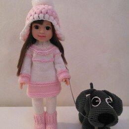 Аксессуары для кукол - Вязаная одежда для кукол (рост 32 см), 0