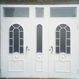 Входные двери - Входная группа в частный дом белая, 0
