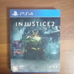 Игры для приставок и ПК - Injustice 2 ps4 диск, 0