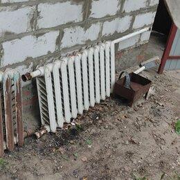 Радиаторы - Чугунные радиаторы отопления б/у, 0
