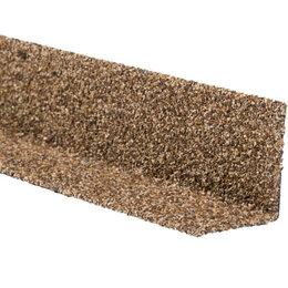 Отделочный профиль, уголки - Уголок внутренний металлический HAUBERK Песчаный 50*50*1250мм, 0