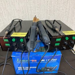 Электрические паяльники - Паяльная станция lukey 852D+, 350 Вт 4.5, 0