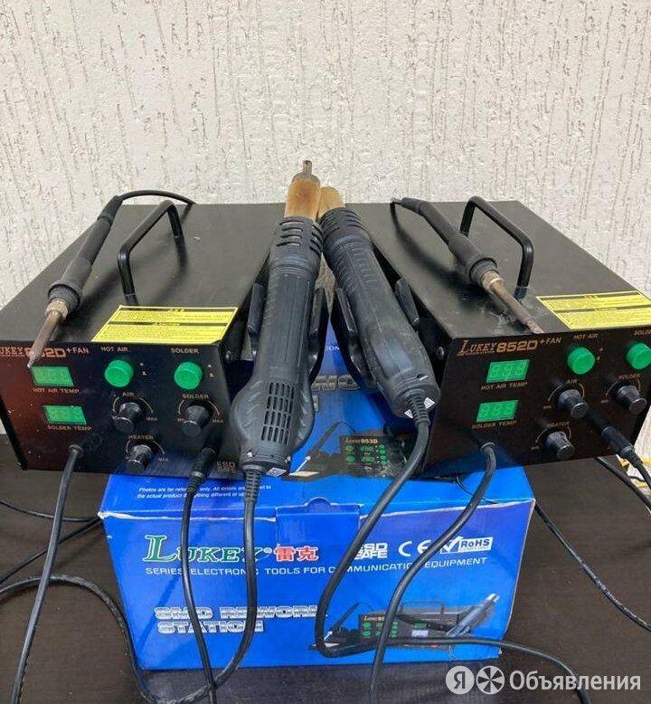 Паяльная станция lukey 852D+, 350 Вт 4.5 по цене 4500₽ - Промышленное климатическое оборудование, фото 0