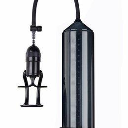 Прочие товары для животных - Eroticon Чёрная вакуумная помпа Eroticon PUMP X3 с ручным насосом, 0