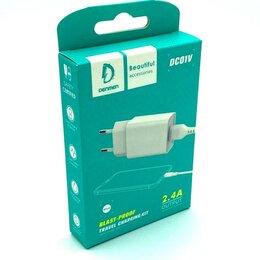 Аккумуляторы - Зарядное устройство Denmen DC01V USB + кабель microUSB, 0
