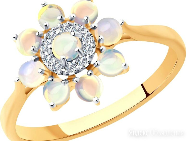 Кольцо SOKOLOV 6014191_s_16-5 по цене 17550₽ - Кольца и перстни, фото 0