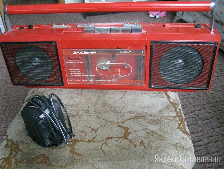 Кассетный магнитофон (элегия 302) красного цвета по цене 500₽ - Музыкальные центры,  магнитофоны, магнитолы, фото 0