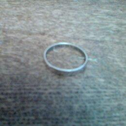Кольца и перстни - Кольцо серебряное венчальное, 0
