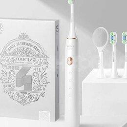 Электрические зубные щетки - Зубная электрическая щетка Xiaomi Soocas X3U Gift Edition белая, 0