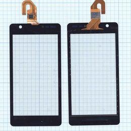 Дисплеи и тачскрины - Тачскрин для Sony Xperia ZR черное, 0