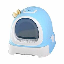 Биотуалеты - Туалет-бокс, выдвижной поддон, Фэнтези 55*42*43 голубой 1шт/уп, фильтр, совок..., 0