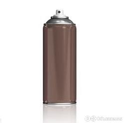 Краска аэрозольная шоколад (8017) по цене 400₽ - Краски, фото 0