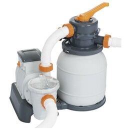 Фильтры, насосы и хлоргенераторы - Фильтр-насос для бассейнов песочный 220-240V, 5678 л/ч, 58497 Bestway, 0