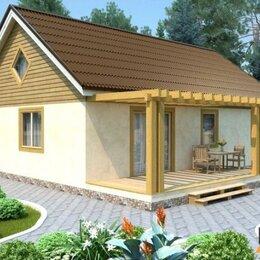 Готовые строения - Каркасный дом энергоэффективный 8х8 64м2, 0