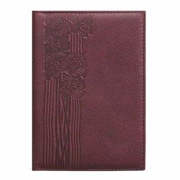 Обложки для документов - Обложка д/паспорта Domenico Morelli Сюита Бордо, нат. кожа, тисн., 0