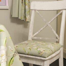 "Декоративные подушки - Подушка на стул ""Райский сад"", 0"