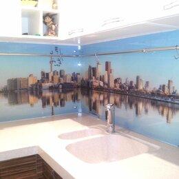 Стеновые панели -  Фартук из стекла для кухни - скинали, 0