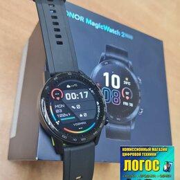Умные часы и браслеты - Смарт-часы Honor MagicWatch 2 Charcoal Black (MNS-B39), 0