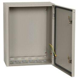 Электрические щиты и комплектующие - Корпус металлический ЩМП-3-0 74 У2 IP54 IEK YKM40-03-54, 0