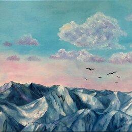 Картины, постеры, гобелены, панно - Масляная живопись / горный пейзаж , 0