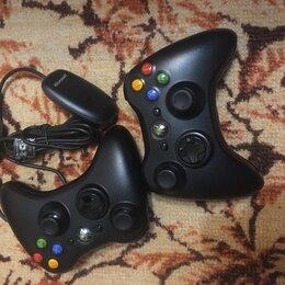 Рули, джойстики, геймпады - xbox 360 беспроводные геймпады, адаптер для подключения геймпада xbox 360 к пк, 0