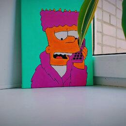 Картины, постеры, гобелены, панно - Картина 🖼 «Bart», 0