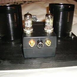 Усилители и ресиверы - Высококачественный однотактный усилитель на лампах PCC88 со звуком HI-FI., 0