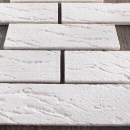Облицовочный камень - Гипсовая плитка под кирпич, 0