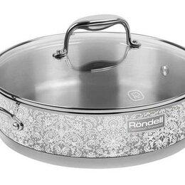 Сковороды и сотейники - Сотейник с/кр 26 см Ajour Rondell RDS-1089 (ST), 0