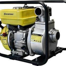Мотопомпы - Мотопомпа бензиновая CHAMPION GP 50 для слабозагрязненной воды [GP50], 0