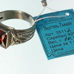 Кольца и перстни - Перстень Птица Гамаюн серебряный с фианитом, 0