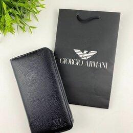 Кошельки - Мужское портмоне Armani новое, 0