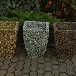 Садовые фигуры и цветочницы - Вазон бетонный Балтема, 0