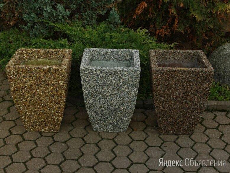 Вазон бетонный Балтема по цене 3900₽ - Садовые фигуры и цветочницы, фото 0