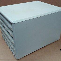 Канцелярские принадлежности - Бокс для бумаг с 5-ю выдвижными лотками HELIT, 0