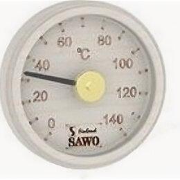 Датчики температуры, влажности и заморозки - Термометр, круглый с гравировкой, Осина, 102-TA, 0