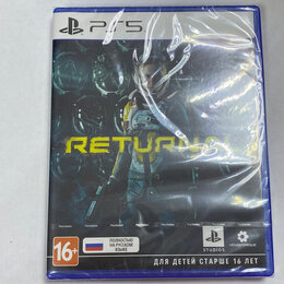 Игры для приставок и ПК - Диск PS5 returnal, 0