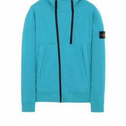 Толстовки - 18fw 61620 zip sweatshirt stone island, 0