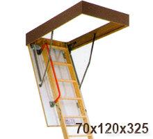 Лестница 70х120х325 LWK KOMFORT по цене 19100₽ - Кровля и водосток, фото 0