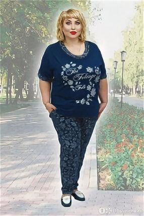 Костюм домашний (футболка, брюки), размер 62, артикул И-2132 Натали И-2132 по цене 1550₽ - Домашняя одежда, фото 0