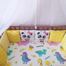 Покрывала, подушки, одеяла - Бортики в кроватку, 0