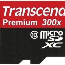 Карты памяти - Карта памяти 64Gb Transcend Premium 300X Microsdhc, 0