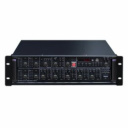 Оборудование для звукозаписывающих студий - LAudio LAMR4120 Усилитель мощности трансляционный 4х120Вт. Доставка, 0